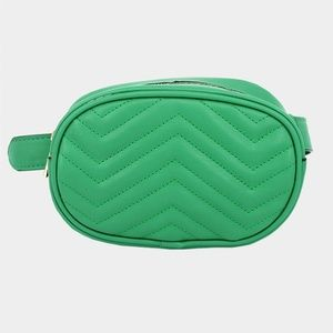 Faux Leather Fanny Pack Bag